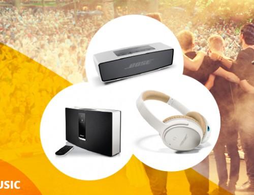 Køb et produkt fra Bose sortimentet og få et Audioprodukt gratis!