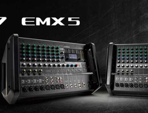 Yamaha EMX5 & EMX7 Powermixere