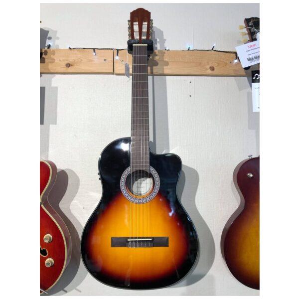 Santana B8 EQCW Sunburst m/Pickup & Tuner