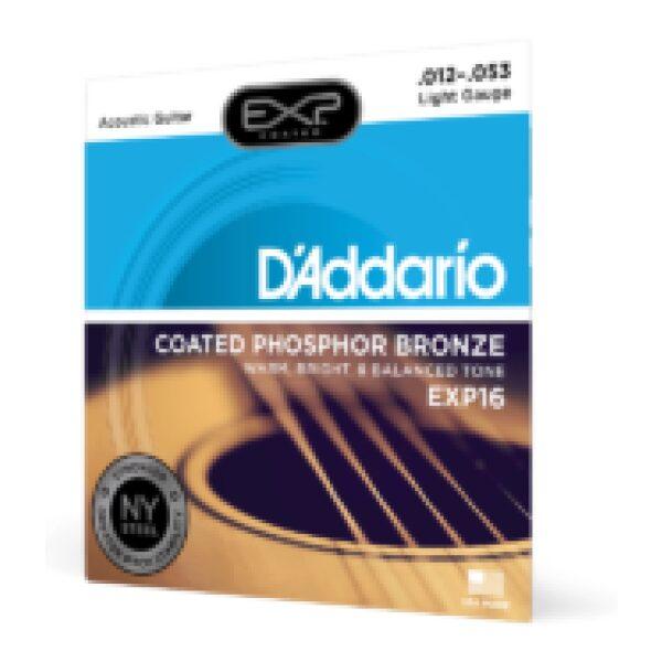 D'addario EXP16 12-53 Phosphor Coated