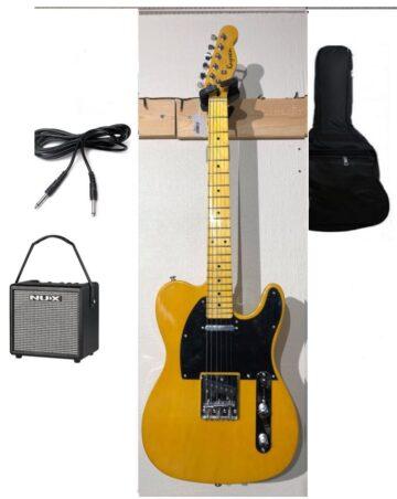 Kaysen El-Guitar Begynder Pakke