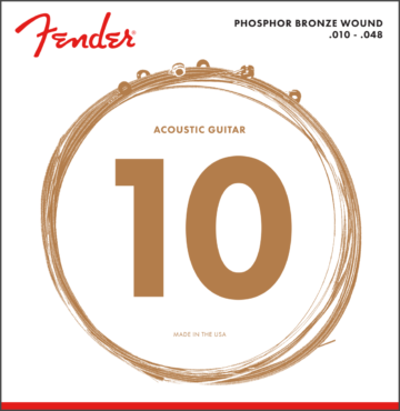 Fender 10-48 Phosphor Bronze