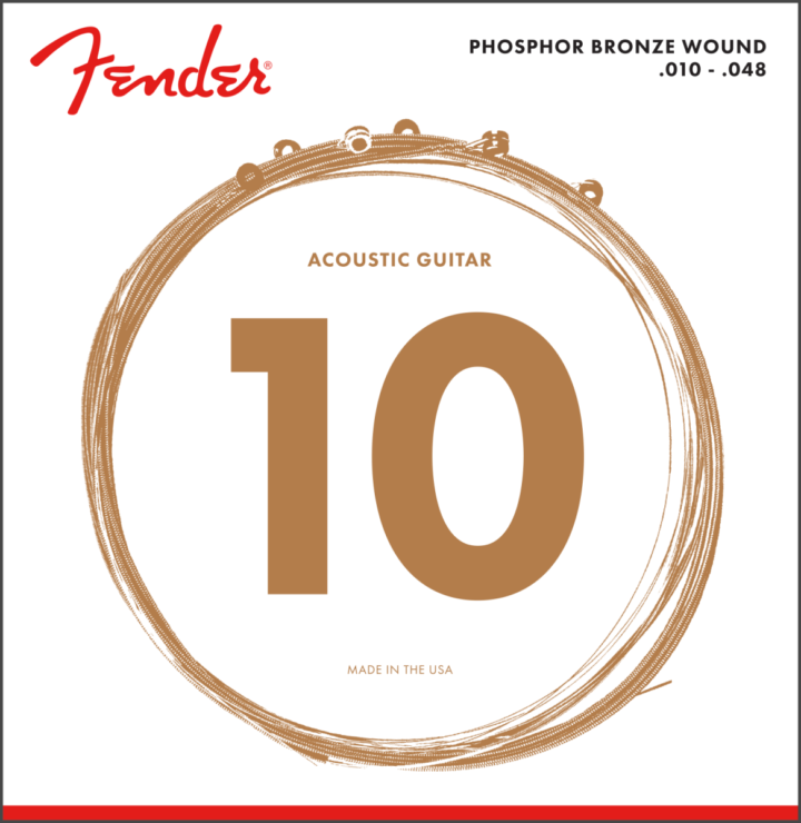 Fender 10-48 Phosphor Bronze