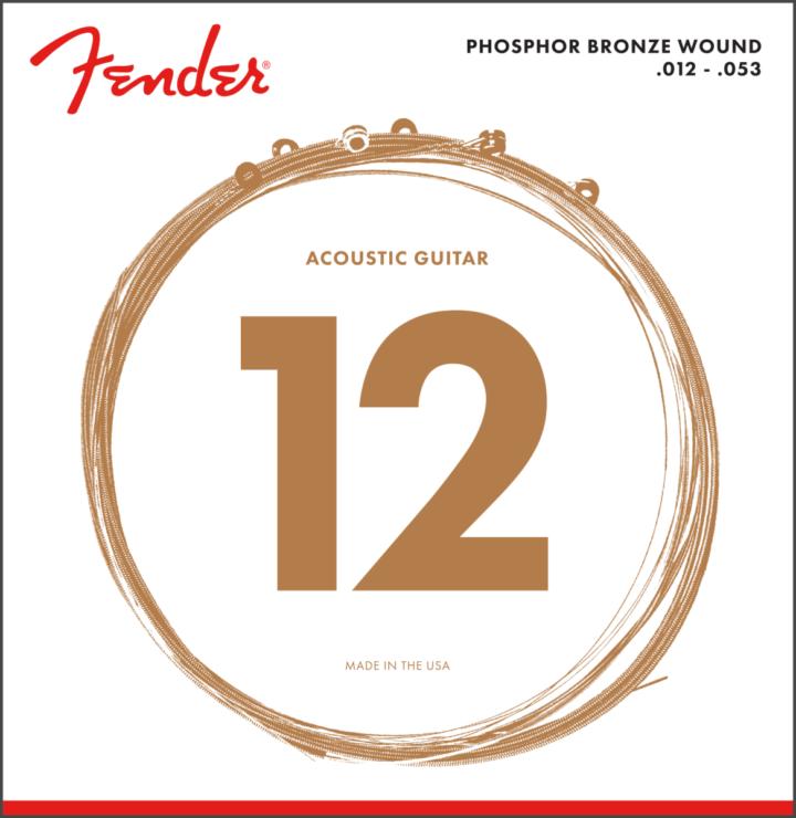 Fender 12-53 Phosphor Bronze
