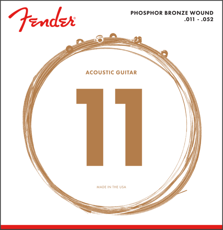 Fender 11-52 Phosphor Bronze