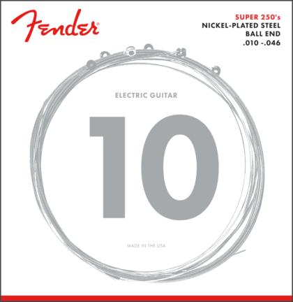 Fender 10-46 Ball End Super 250S