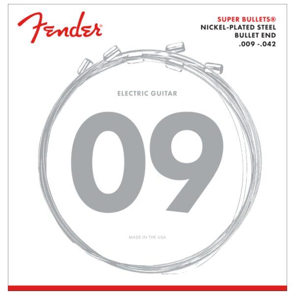 Fender 9-42 Super Bullets