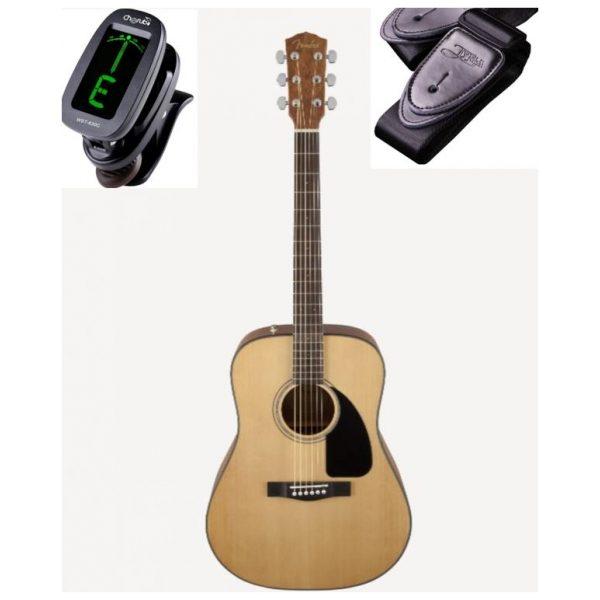 Fender CD60 Western Guitar Pakke