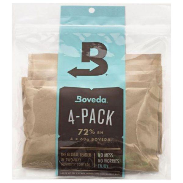 Boveda 4-pack 72% RH