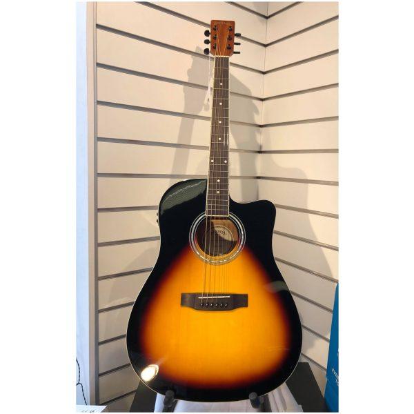Santana LA90 western guitar med pickup
