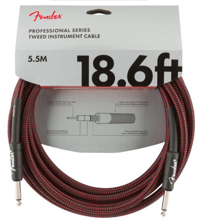 Fender Jack Cable Red Tweed