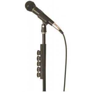 Plekter holder til mikrofonstativ