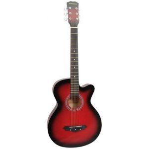 Norfolk STARTER RD western-guitar rød