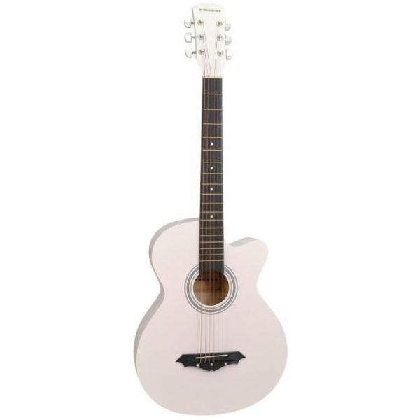 Norfolk STARTER WH western-guitar hvid