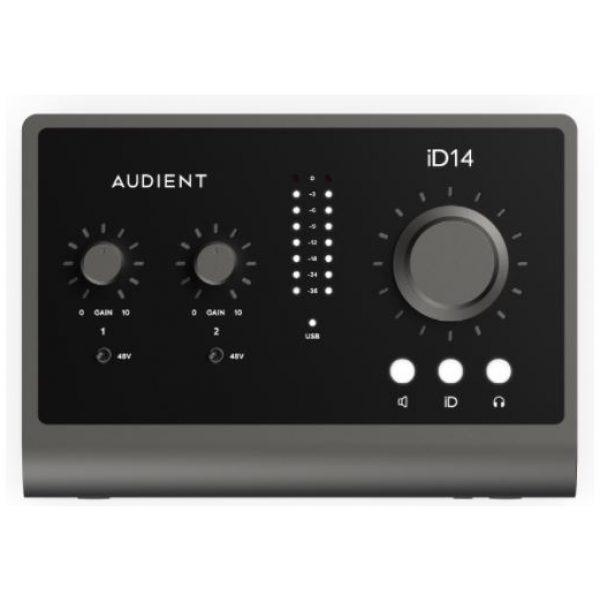 Audient iD14 MkII 10in/6 out Audio Interface