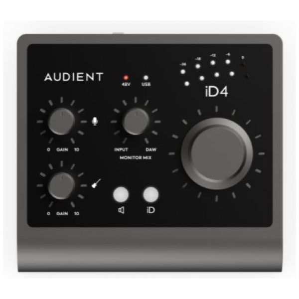 Audient iD 4 MKII 2 in/out Interface